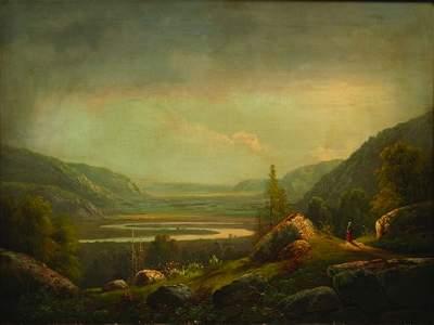 1547: Alexander H. Wyant (American 1836- 1892)