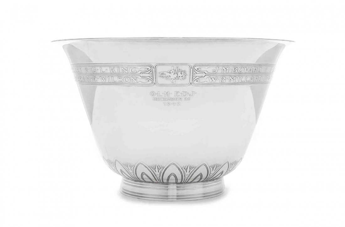 An American Silver Centerpiece Bowl, Tiffany & Co., New