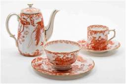 A Partial Royal Crown Derby Tea Service Height of