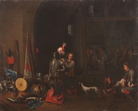 4: Studio of David (the Younger) Teniers (Flemish 1610-
