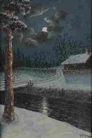 Gulbrand Sether (Norwegian, 1869-1910)