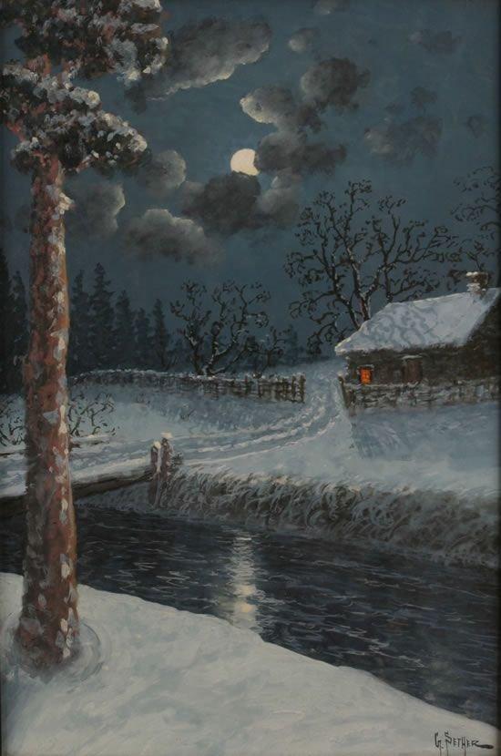 16: Gulbrand Sether (Norwegian, 1869-1910)