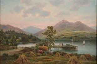 Albert Dunington (British 1860-1928)