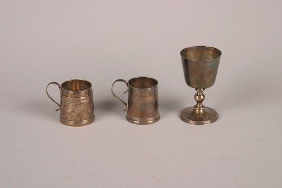 A Queen Anne Britannia Silver Mug, London,