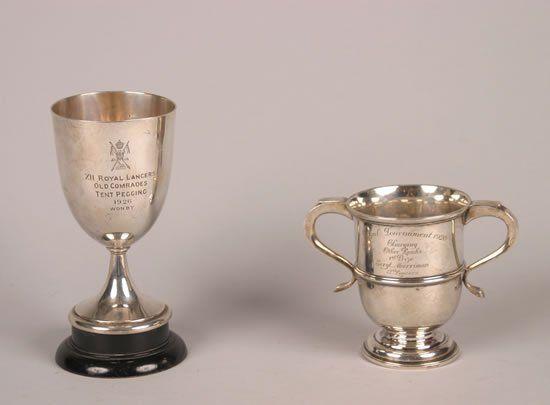 A Victorian Silver Presentation Cup, Goldsmiths &