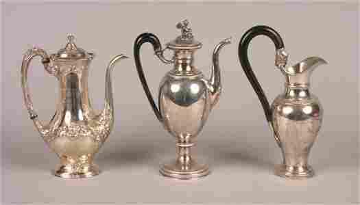 285: An American Silver Coffee Pot, Gorham,