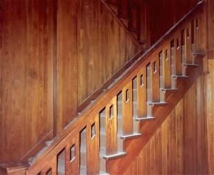 A Limbert Oak Staircase and Railing,