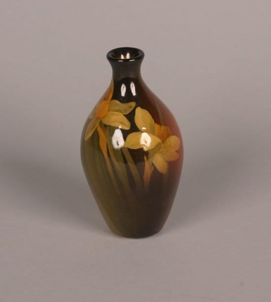 922: A Rookwood Bud Vase by Clara Lindeman,