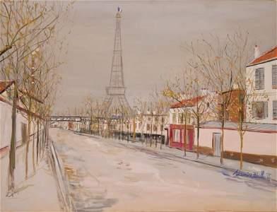 952: Maurice Utrillo