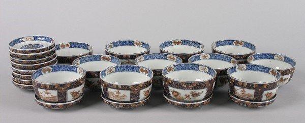 4006: A Set of Twelve Japanese Imari Porcelain Bowls an