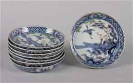 4007: A Set of Eight Japanese Imari Porcelain Plates,