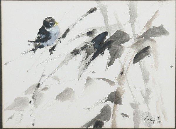 4016: A Pair of Japanese Paintings,