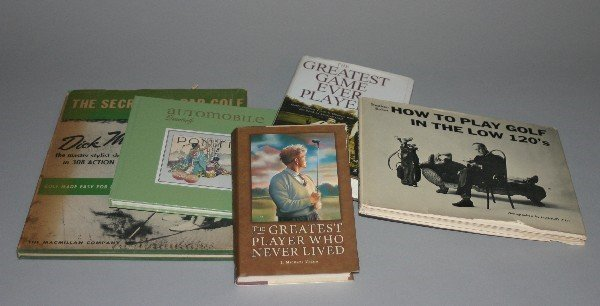 4571: A Collection of Books Pertaining to Golf and othe