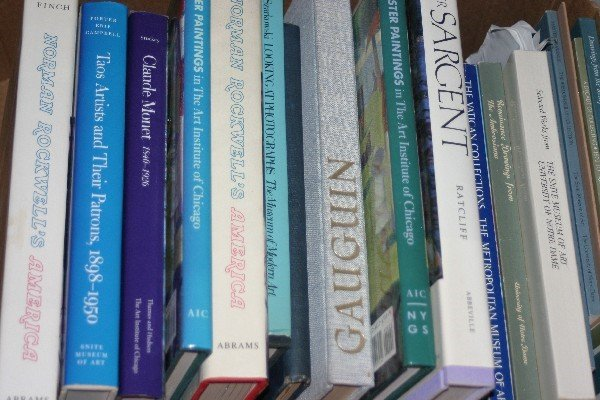 4574: A Collection of Books Pertaining to Fine Art,
