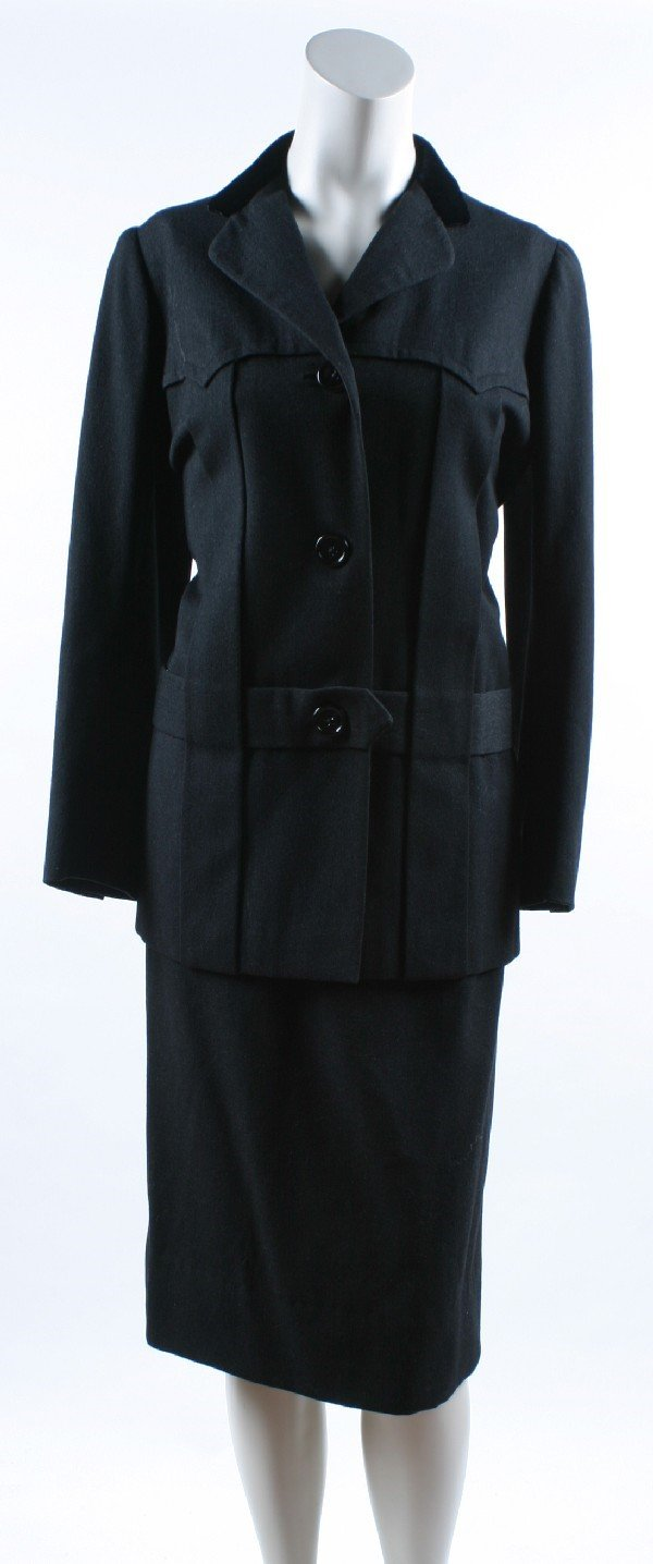 10: Traina-Norell Two Piece Suit