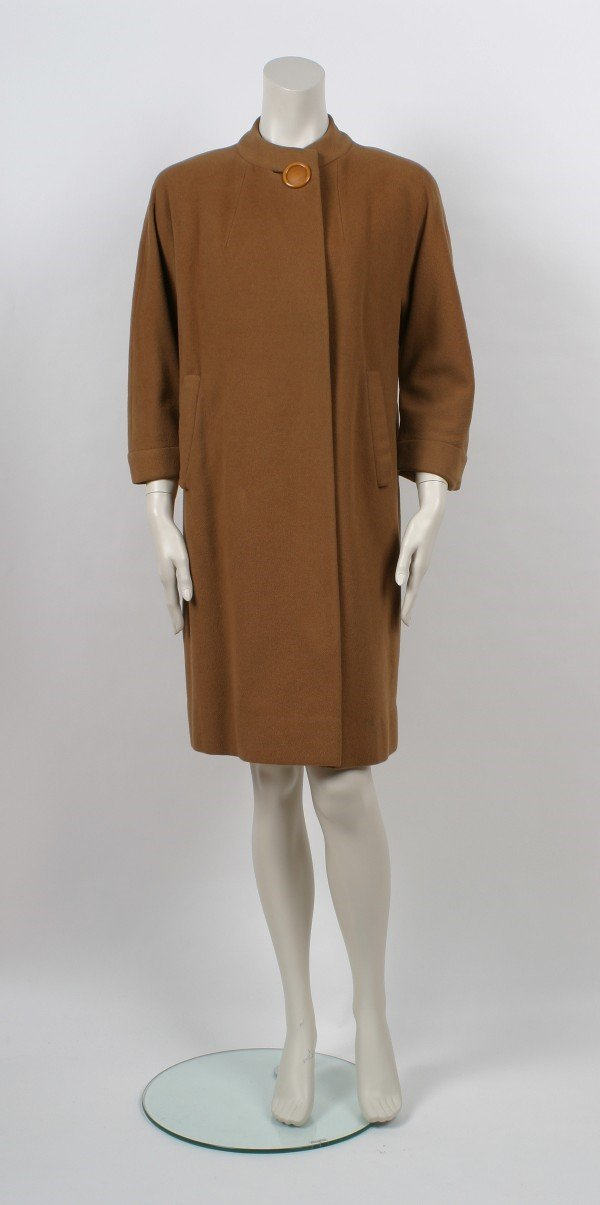 18: Vicuna Camel Wool Coat