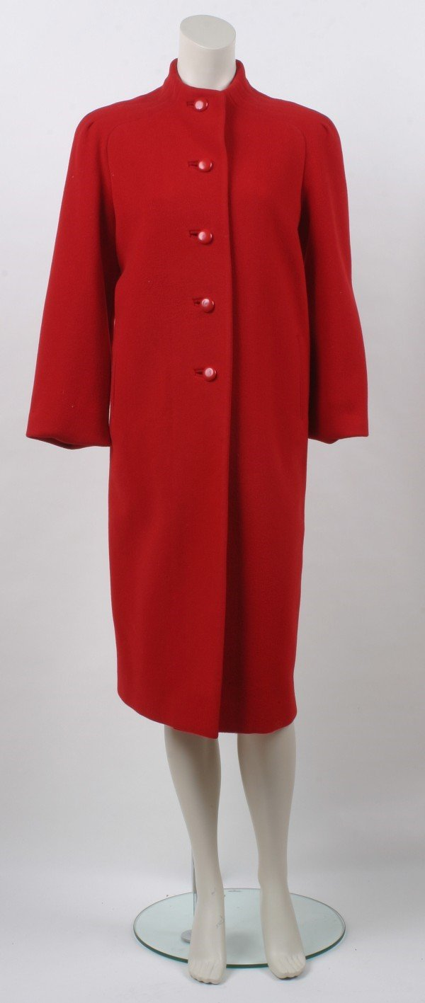 19: Nippon Couture Red Wool Coat