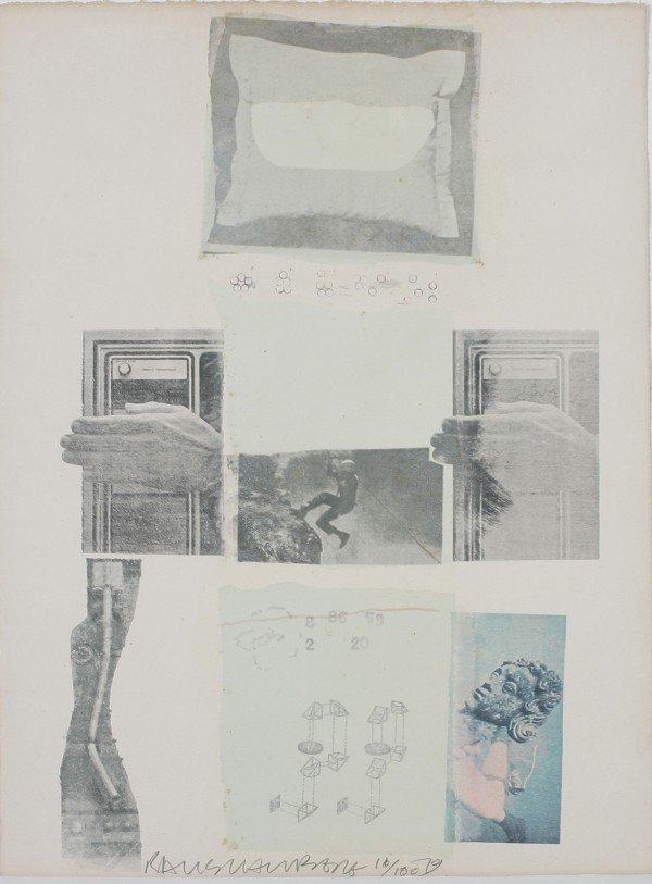 10: Robert Rauschenberg, (American, b. 1925), Untitled