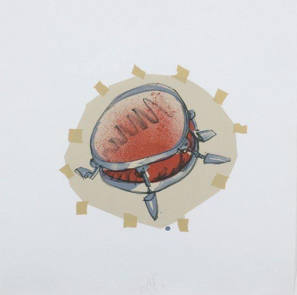 12: Claes Oldenburg, (American, b. 1929), Snare Drum, 1