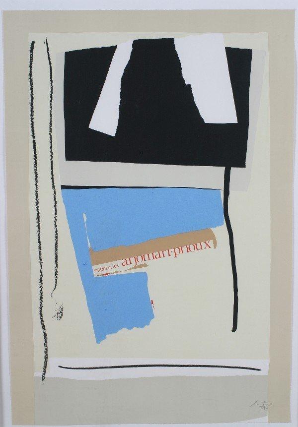 24: Robert Motherwell, (American, 1915-1991), America-