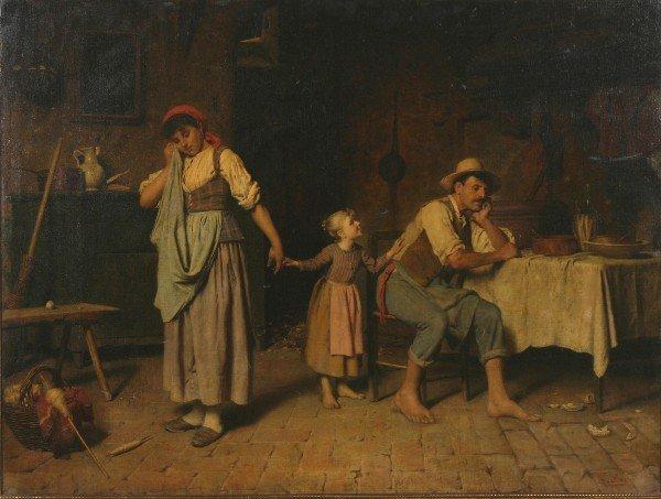 161: Luigi Scaffai, (Italian, 1837-1899), The Peacemake