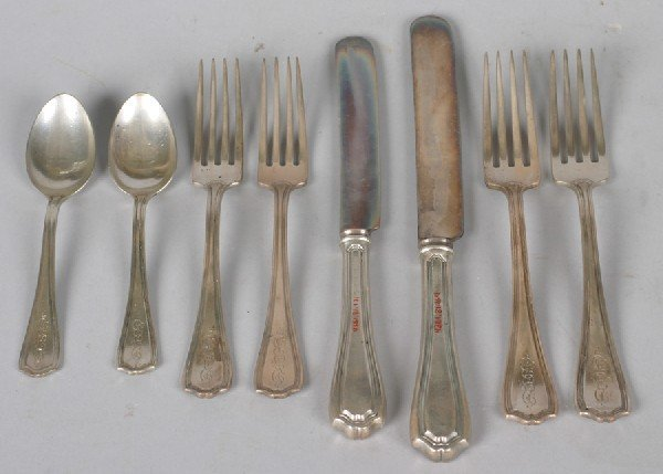7: An American Silver Flatware Service, Reed and Barton