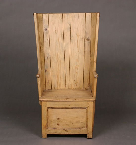 3: A Pine Orkney Chair.