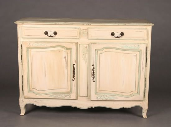 11: A Painted Provincial Style Buffet.