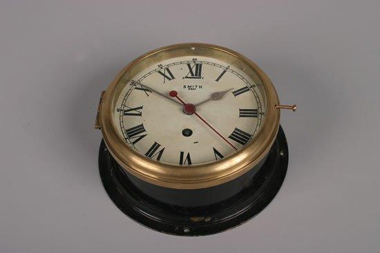 490: A Brass Ship's Clock,