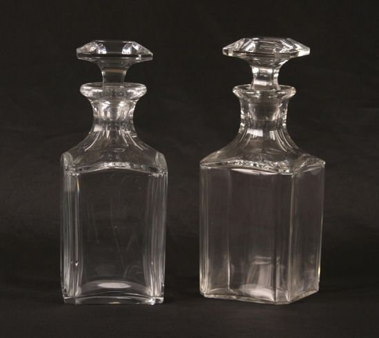 491: A Pair of Baccarat Decanters,
