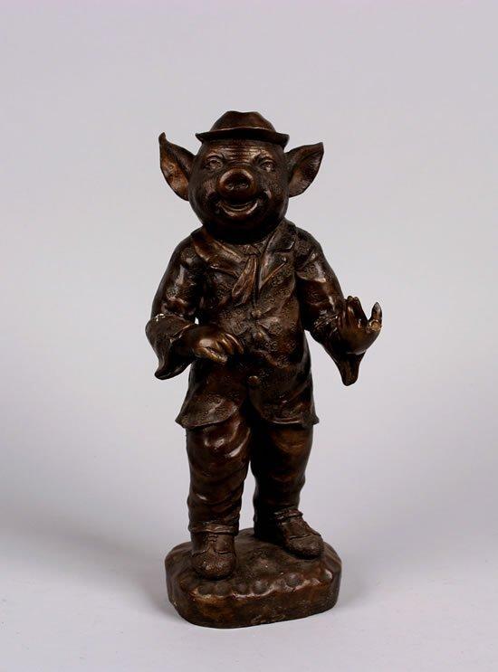 497: A Bronze Figure,