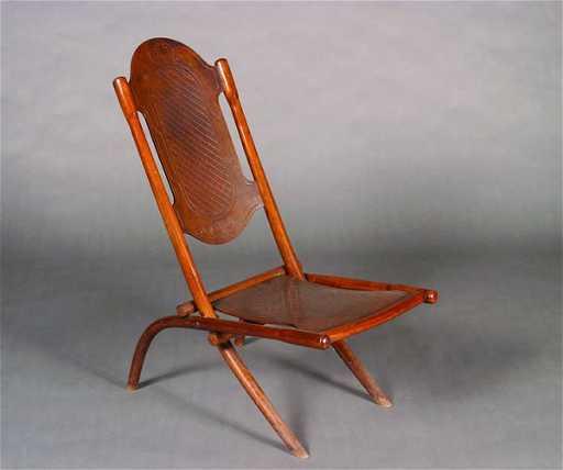 579 A Thonet Folding Chair