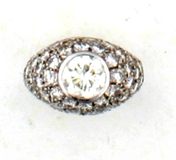 2: A Lady's White Gold and Diamond Ring,