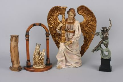 426A: A Cast Resin Figure of an Angel, Height of talles