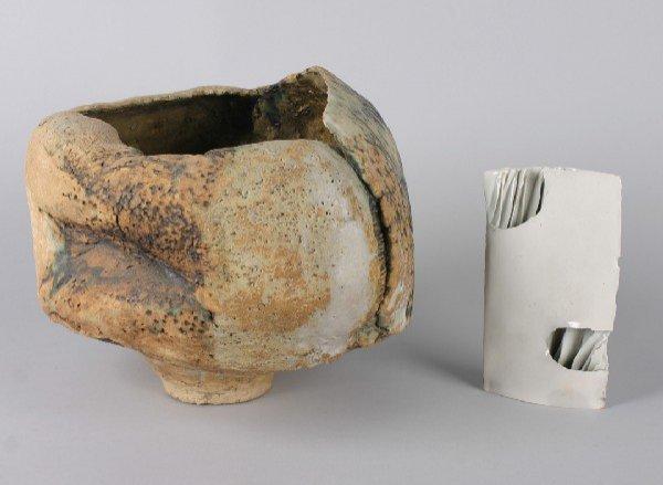 436: A Large Stoneware Shaped Bowl, Diameter of bowls o