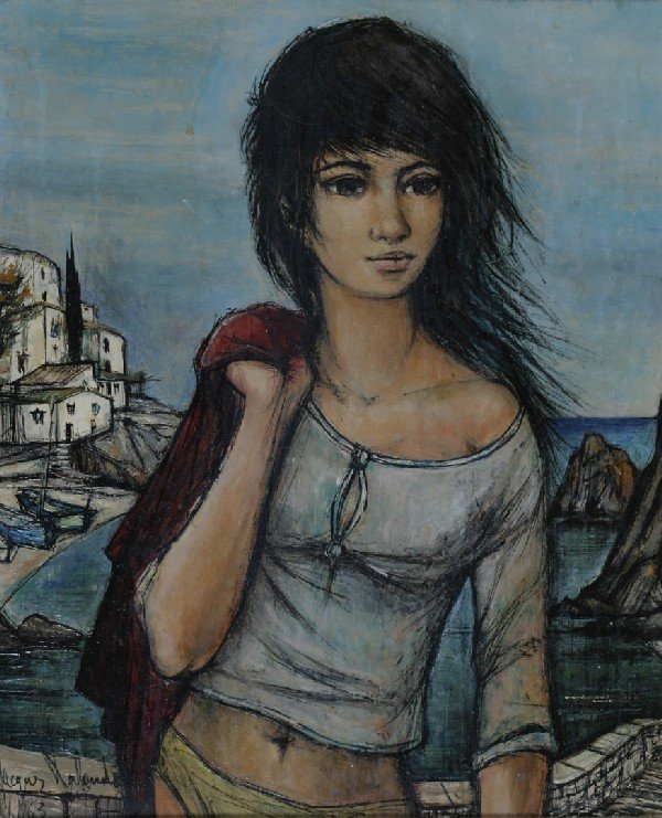 4: Jacques Lalande, (French, 1921-), A Pair of Painting