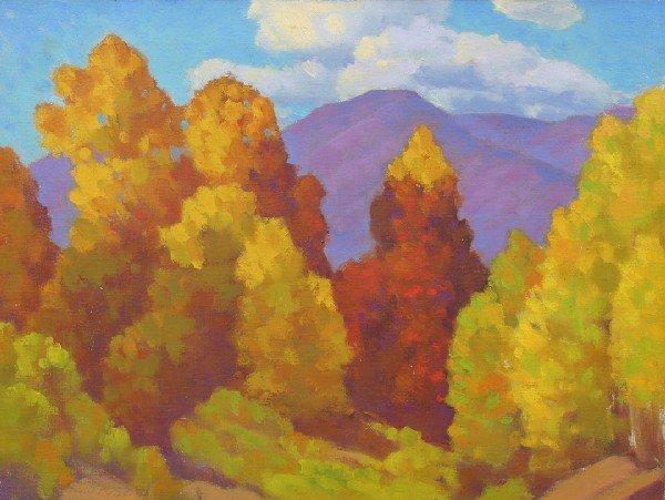 9: Paul Kauver Smith, (American, 1893-1973), Landscape