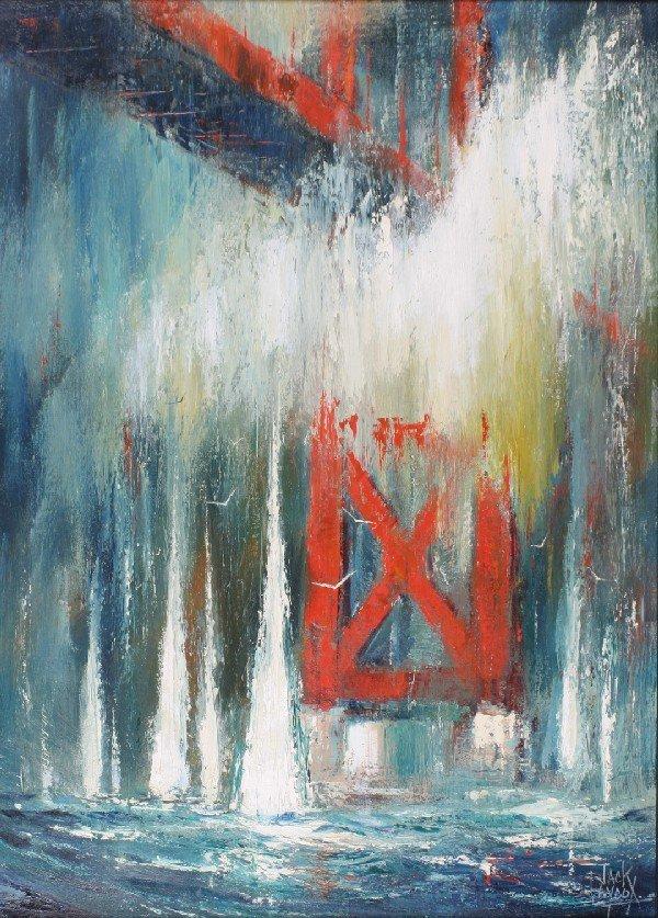 19: William (Jack) Laycox, (American, 1921-1984), Red B