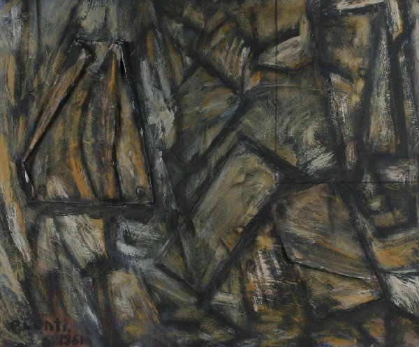 22: P. Conti, 20th Century, Abstraction