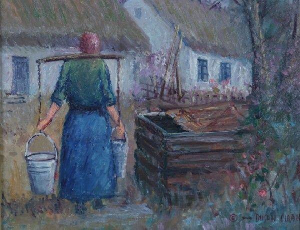 23: A Dusan Ciran Painting.