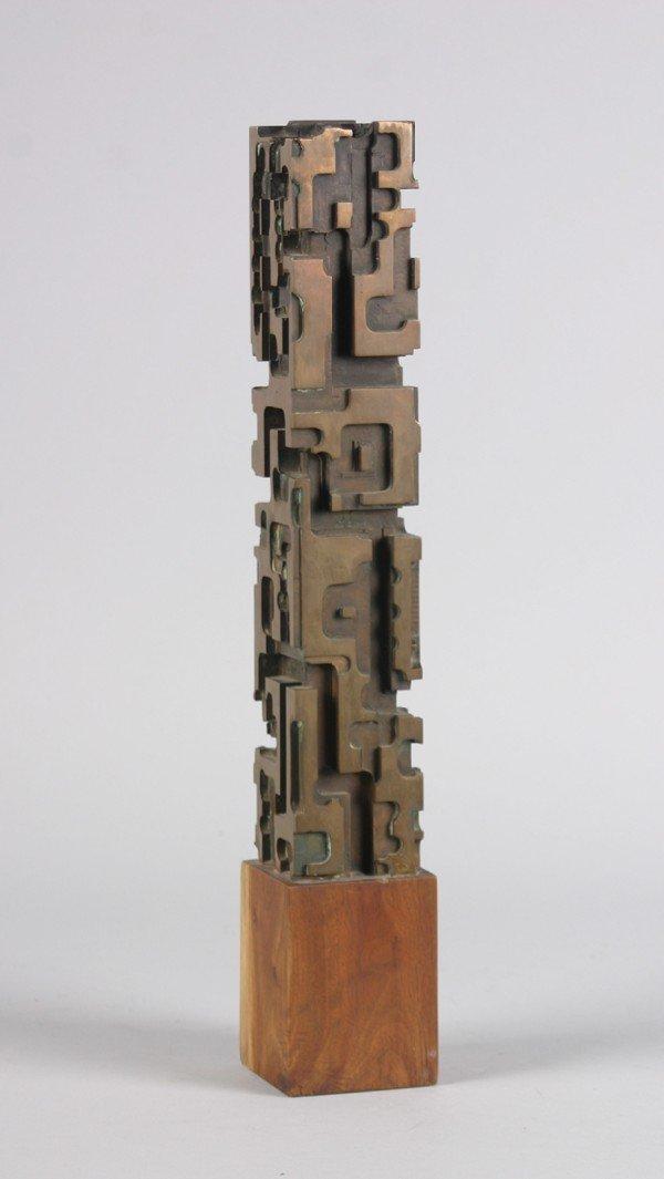 112: Tulio Vasquez, , Bronze Sculpture