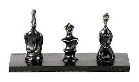 27: Max Ernst, (German, 1891-1976), Le Roi, la Reine et