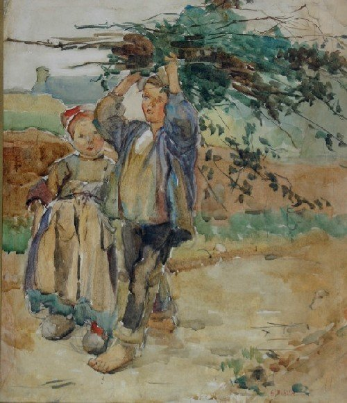 173: Alice Schille, (American, 1869-1955), Young Dutch