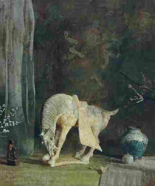 Hovsep Pushman, (American, 1877-1966), Still life