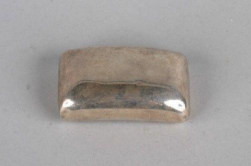 1006: A George III Silver Snuff Box, possibly William B