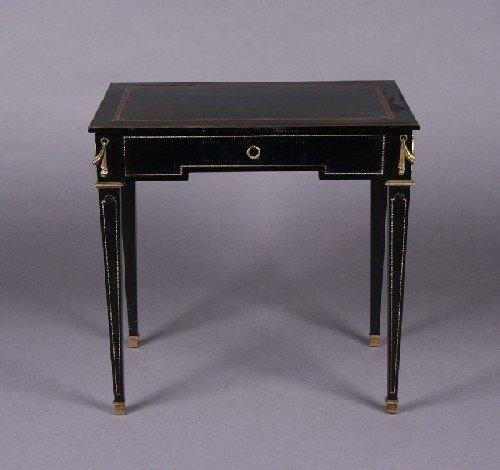 1298: An Empire Style Writing Desk, Height 29 x width 2