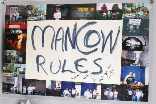 2: Mancow: A Group of Mancow Promotional Framed Poster