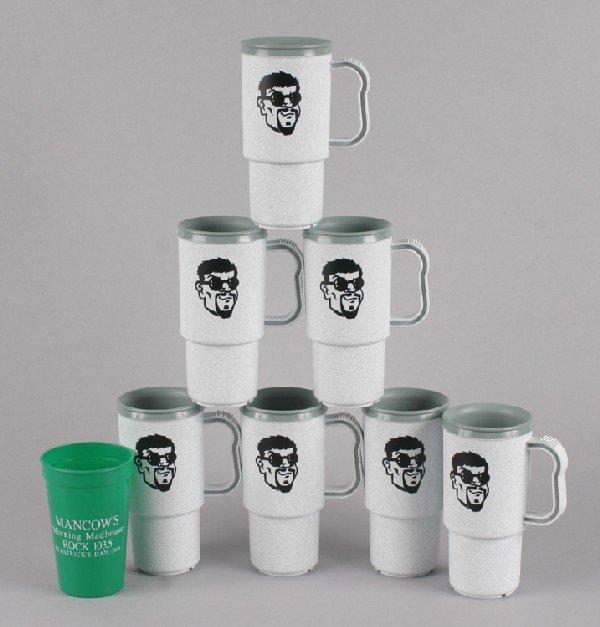9: Mancow: A Group of New Mancow Mugs,