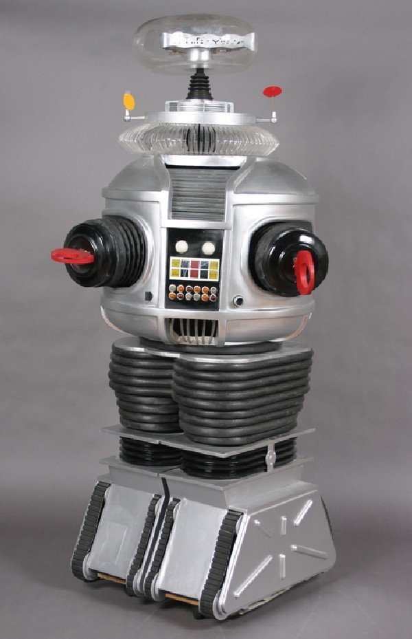 """132: Mancow:A Lost in Space"""" Replica B-9 Robot, Height"""
