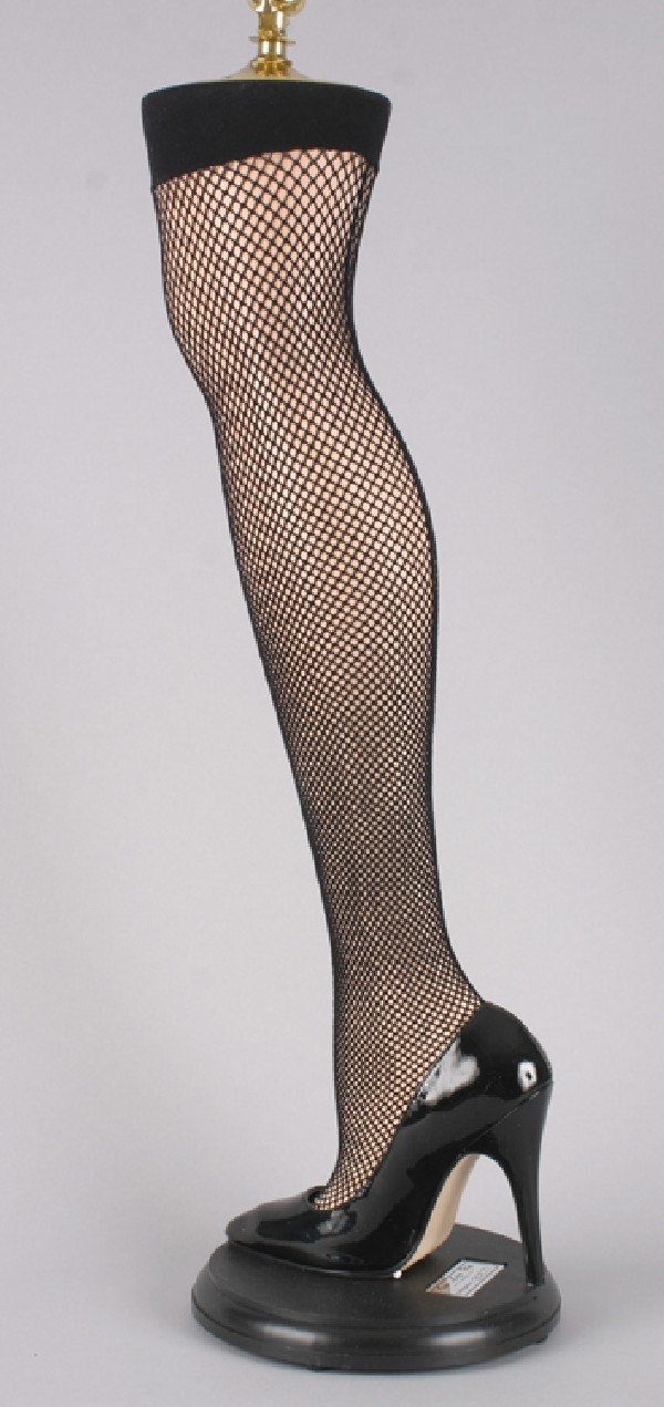 203:Mancow:  A Lamp in the Form of a Lady's Leg,